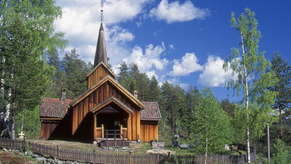 Gudstjeneste i Vatnås kirke, Sigdal