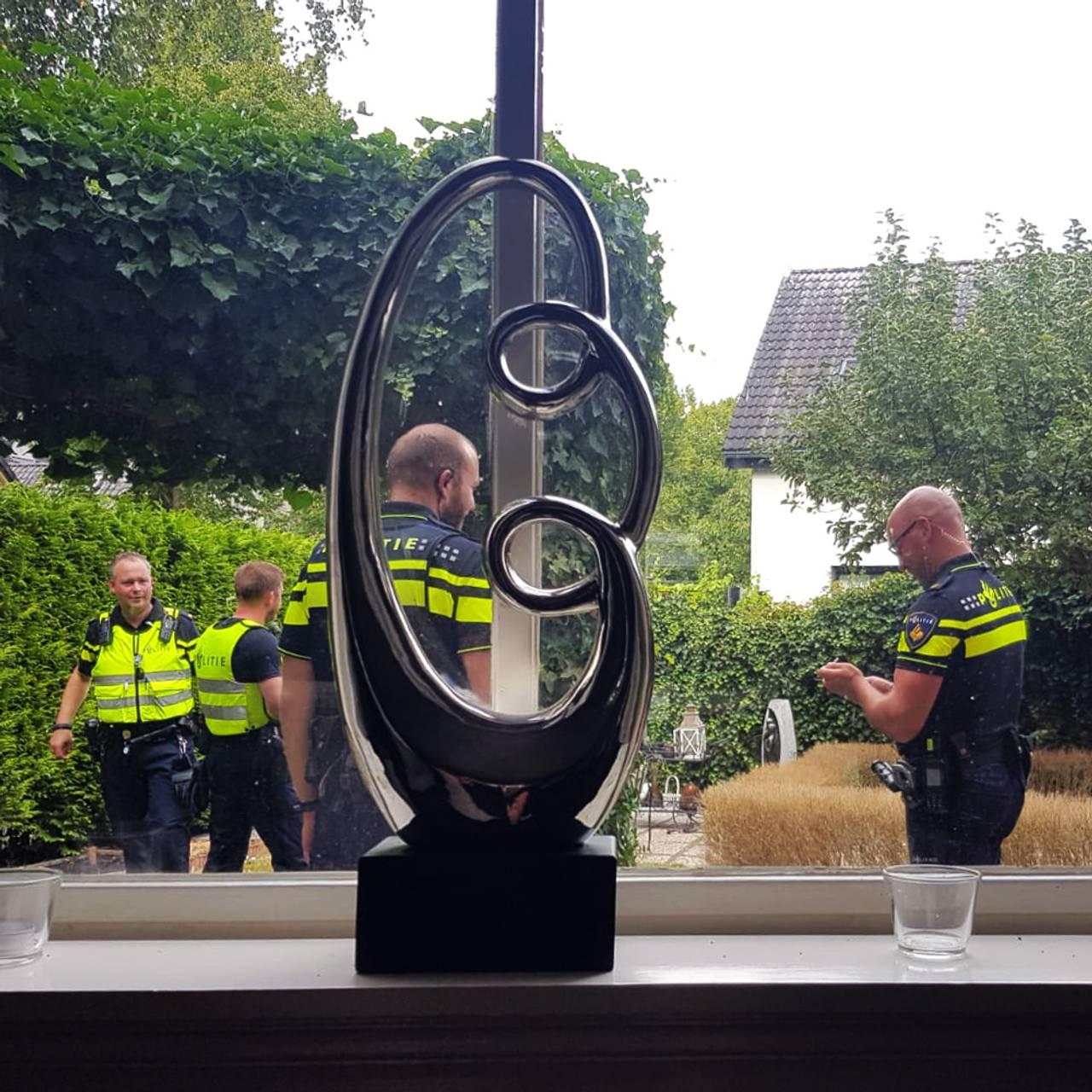Politiet hos Ben van Wijhe etter angrepet
