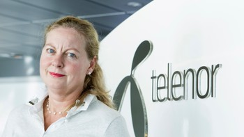 Berit Svendsen, administrerende direktør i Telenor Norge