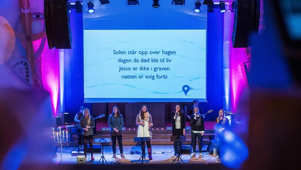 Gudstjeneste fra Misjonssalen Oslo