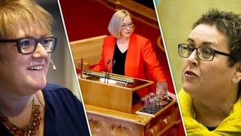 Trine Skei Grande, Marit Arnstad og Olaug Bollestad