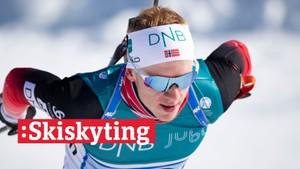 V-cup skiskyting: Blandet stafett