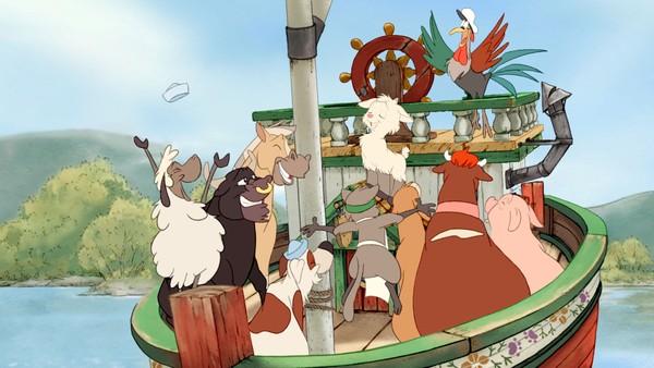 Norsk eventyr. Geitekillingen som kunne telle til ti er den kjente regla om den vesle geitekillingen som teller de andre dyra mot deres vilje. Men til slutt kommer tellingen godt med, når alle dyra skal om bord på ferga som bare tar ti passasjerer.