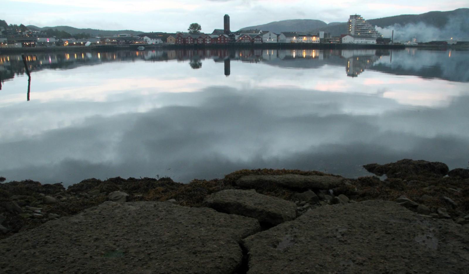 Namsos - en fin septemberkveld