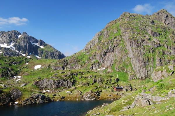 Trollfjordhytta - Foto: Vesterålen Turlag