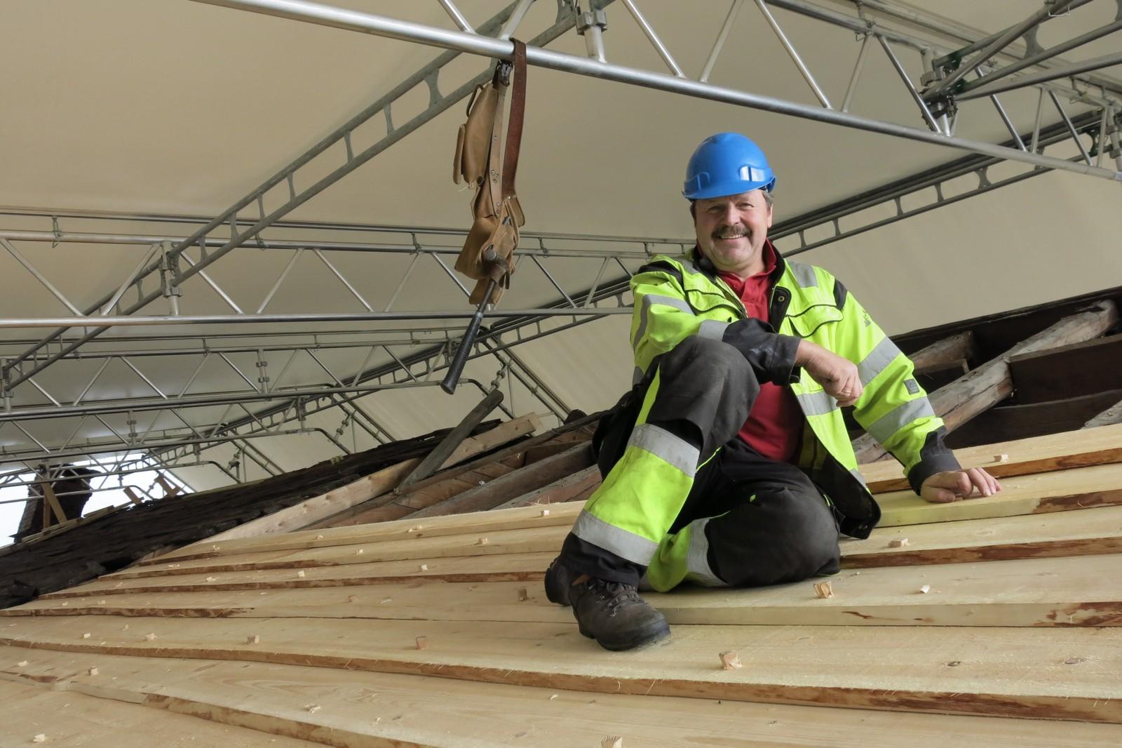Haakon Kvestad er byggmeister.
