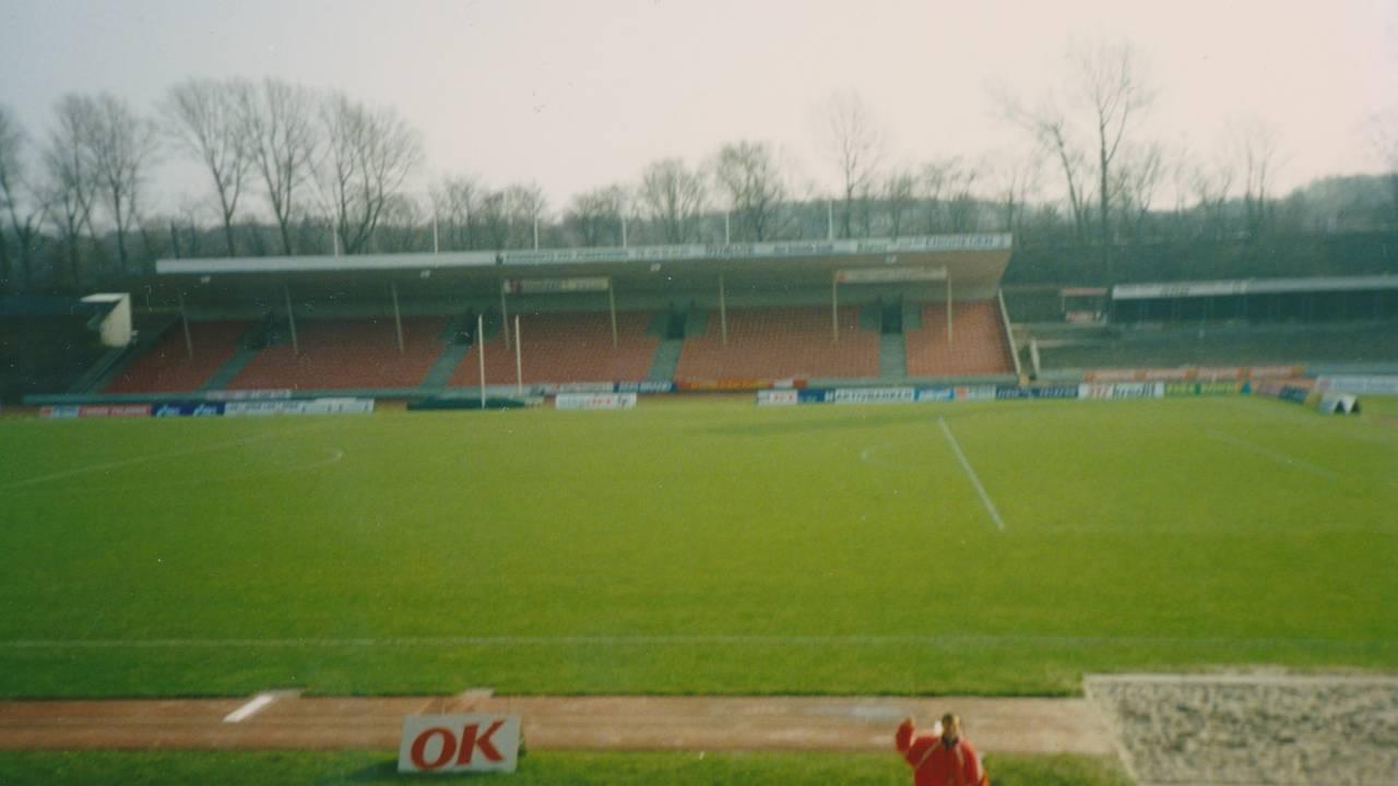 Strømmen-gjengen skulle til denne treningsbanen i Aarhus. Der pleide de å dra hver påske.