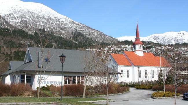 Soknepresten i Eid er prost i Nordfjord. Foto: Ottar Starheim, NRK.