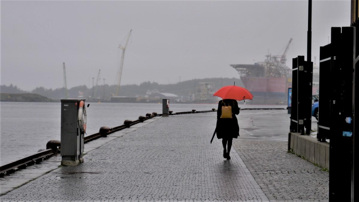 Ein typisk juli-dag i Stavanger 2020