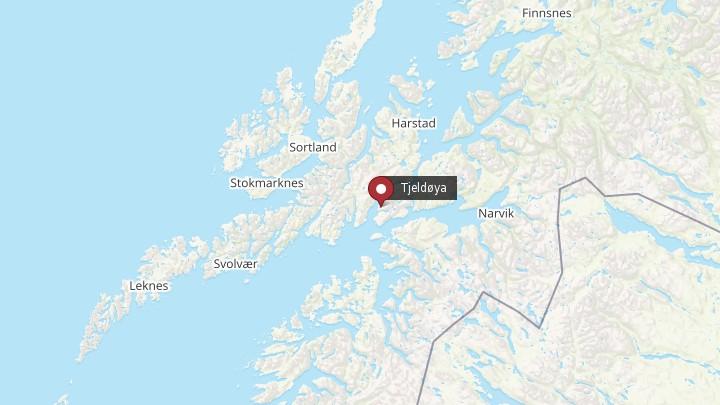tjeldøya kart Tjeldøya Kart | Kart