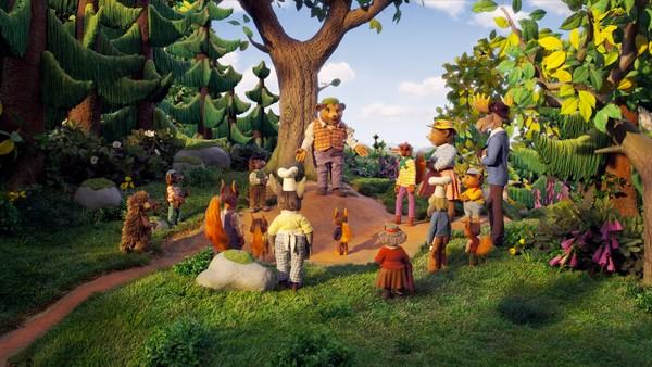 Bilde for Hakkebakkeskogen
