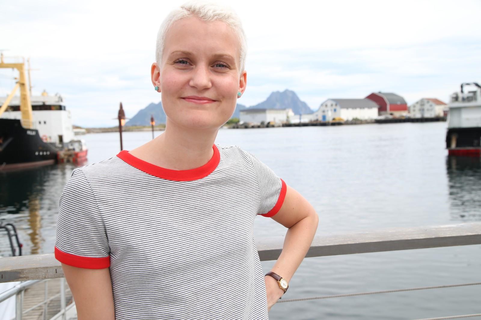 Lena Kvitvik er én av ni lokale statister som skal bidra i millionproduksjonen fra Hollywood.