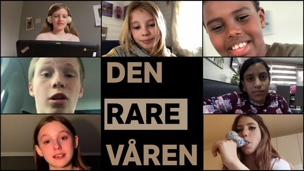 Syv barn fra ulike deler av landet viser hvordan hverdagen deres ble snudd på hodet våren 2020.