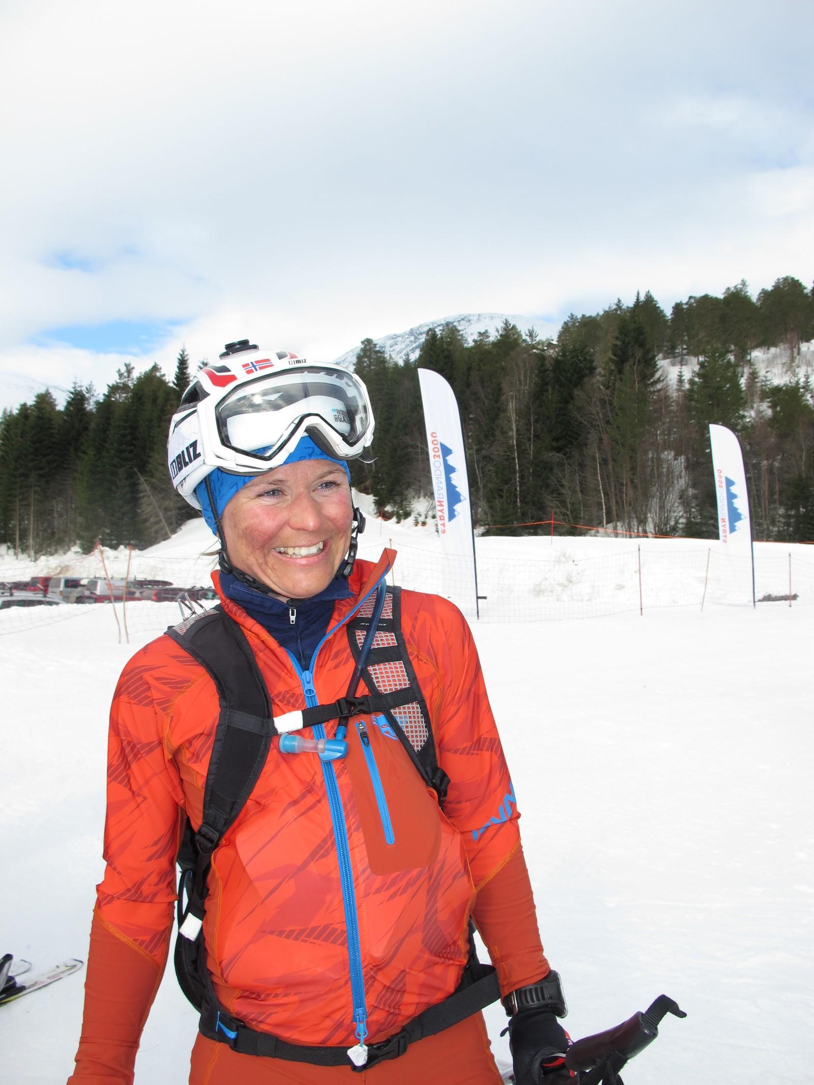 Vinnar i dameklassen, Hildegunn Gjertrud Hovdenak frå Romsdal Randonee.