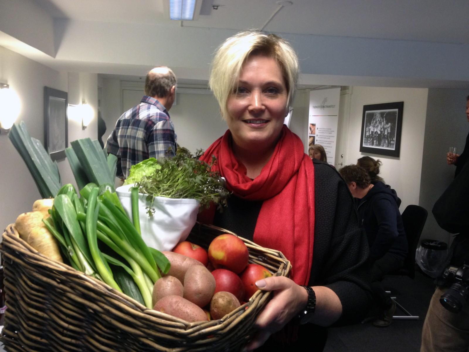 Mathall-gründer i Trondheim, Anne Morkemo. Mathallen i Trondheim skal ligge ved Prinsenkrysset i byen, og et av konseptene er salg av matspesialiteter fra Trøndelag. Hallen skal etter planen åpne i juni i år.