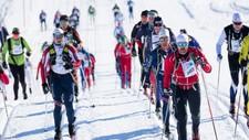 BIRKEN: Kronprins Haakon Magnus var blant de mange som fullførte de 54 kilometrene over fjellet fra Rena til Lillehammer i fjor. Da var det vesentlig mildere temperatur enn ved årets utgave.