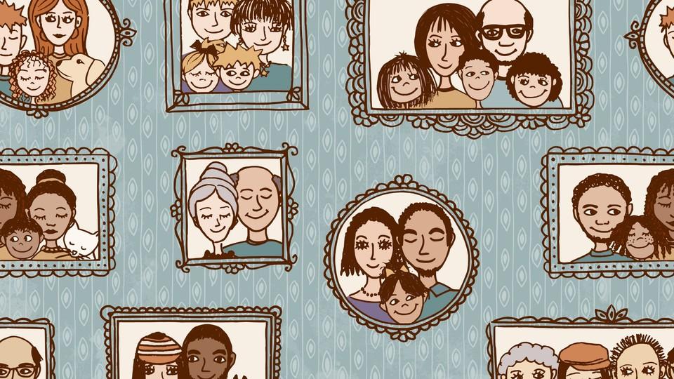 Alle tiders familieportrett