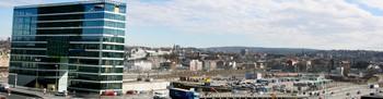 Høyhusrekka i Bjørvika