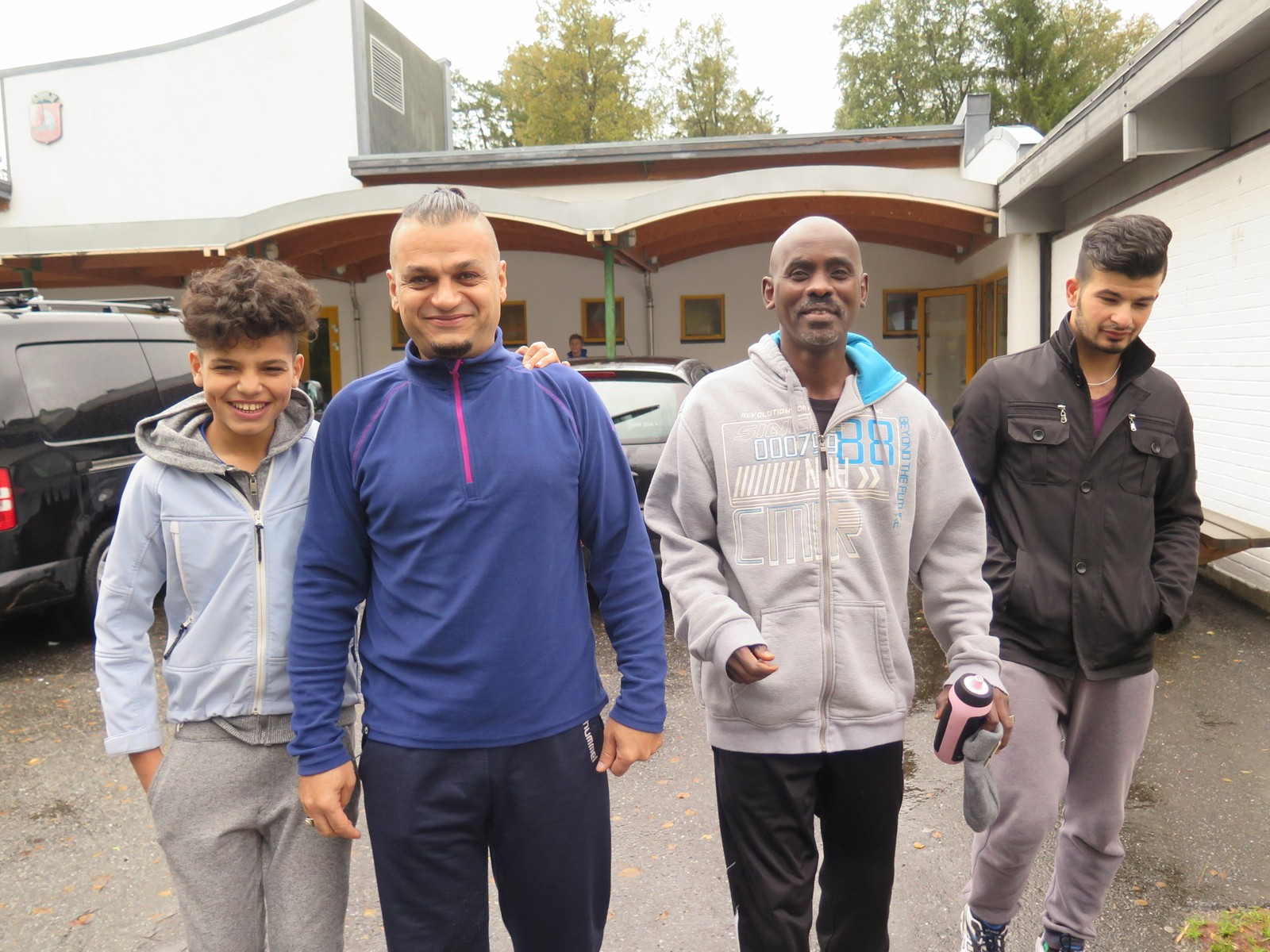 Ahmed, Dashti, Saywan og Wheiri klare for familietur