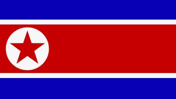 Nord-Koreas flagg