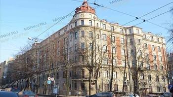 Boligkompleks der Sjostakovitsj' leilegheit ligg