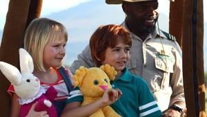 Karsten og Petra på safari