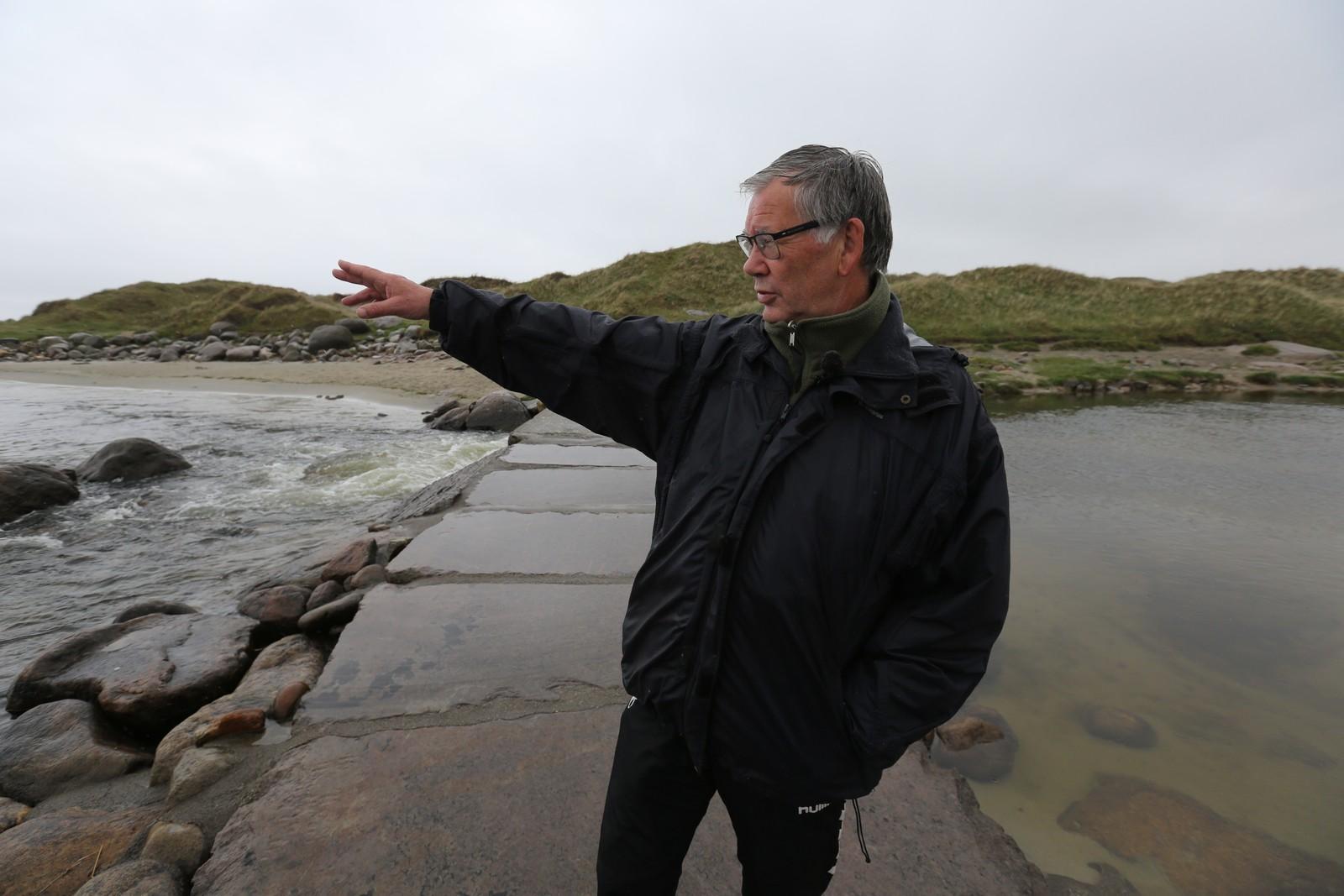 Egil Magne Köhler var på campingplassen like ved stranda da ulykken skjedde.