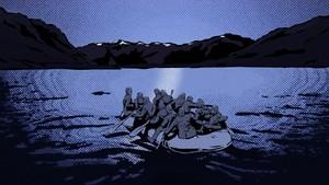 Operasjon Muskedunder: 1. Ubåten i Bjærangfjorden