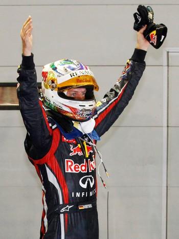 Singapore F1 GP Auto Racing Sebastian Vettel