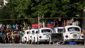 Taxier i Monterrey