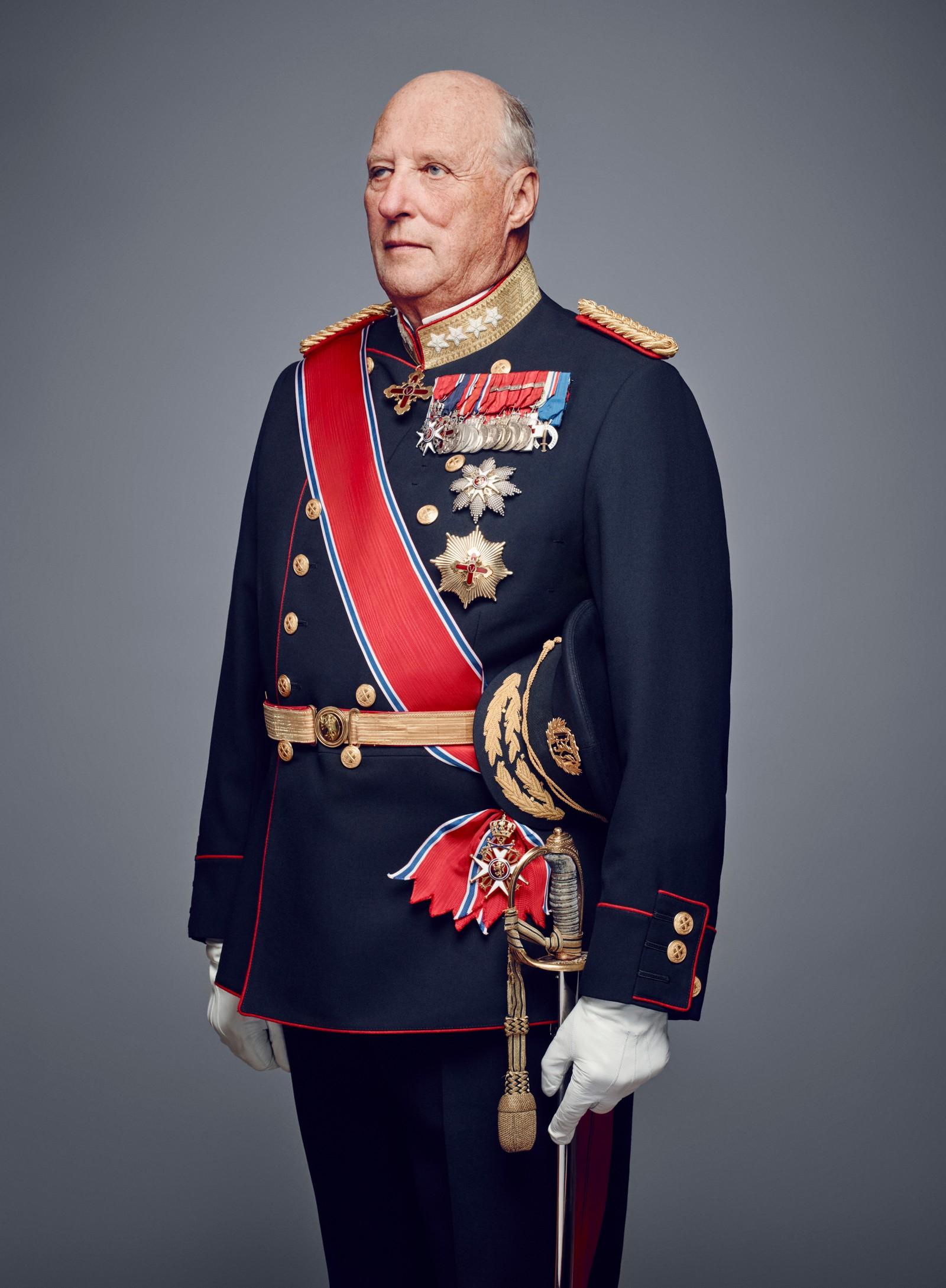 Kong Harald i galla.