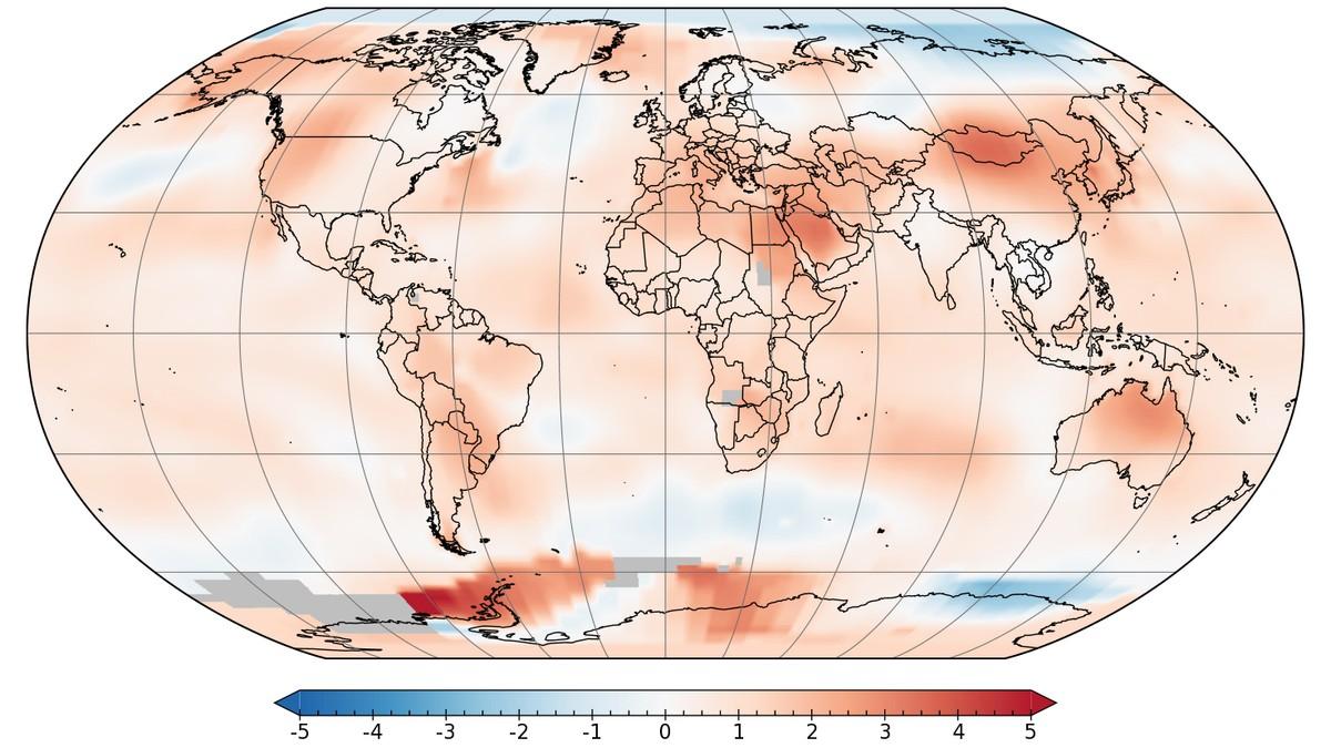 Tidenes varmeste juli – for andre år på rad