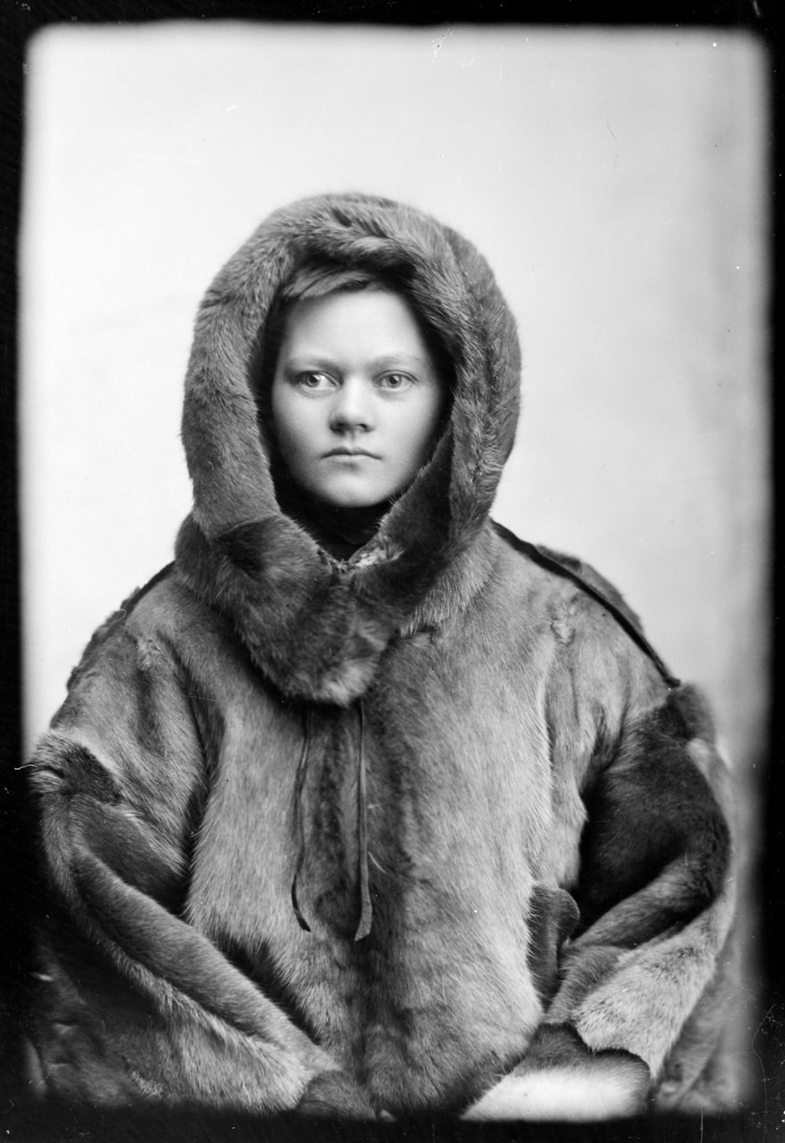 POLFARER: Marie Høeg som polfarer.