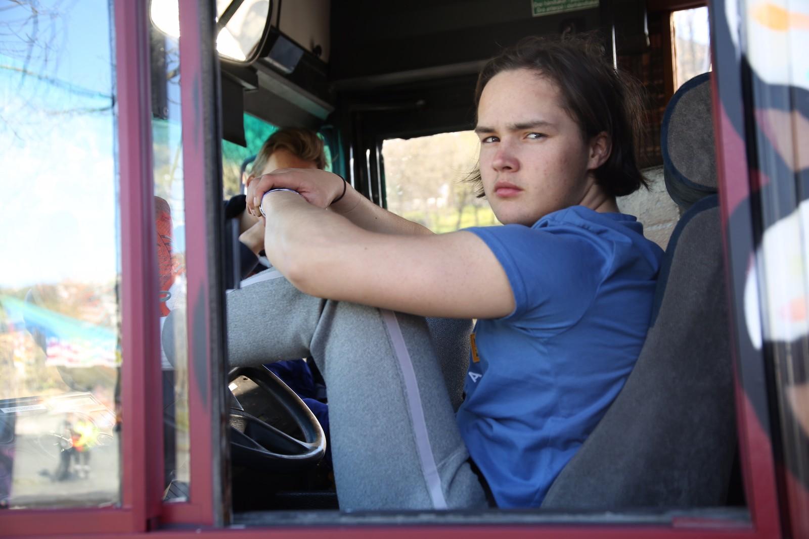 Ein bussjåfør, ein bussjåfør...