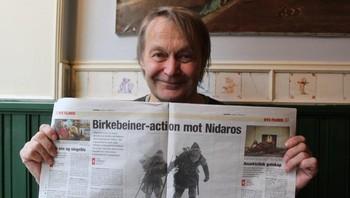 Nils Gaup holder oppe anmeldelse av Birkebeinerne