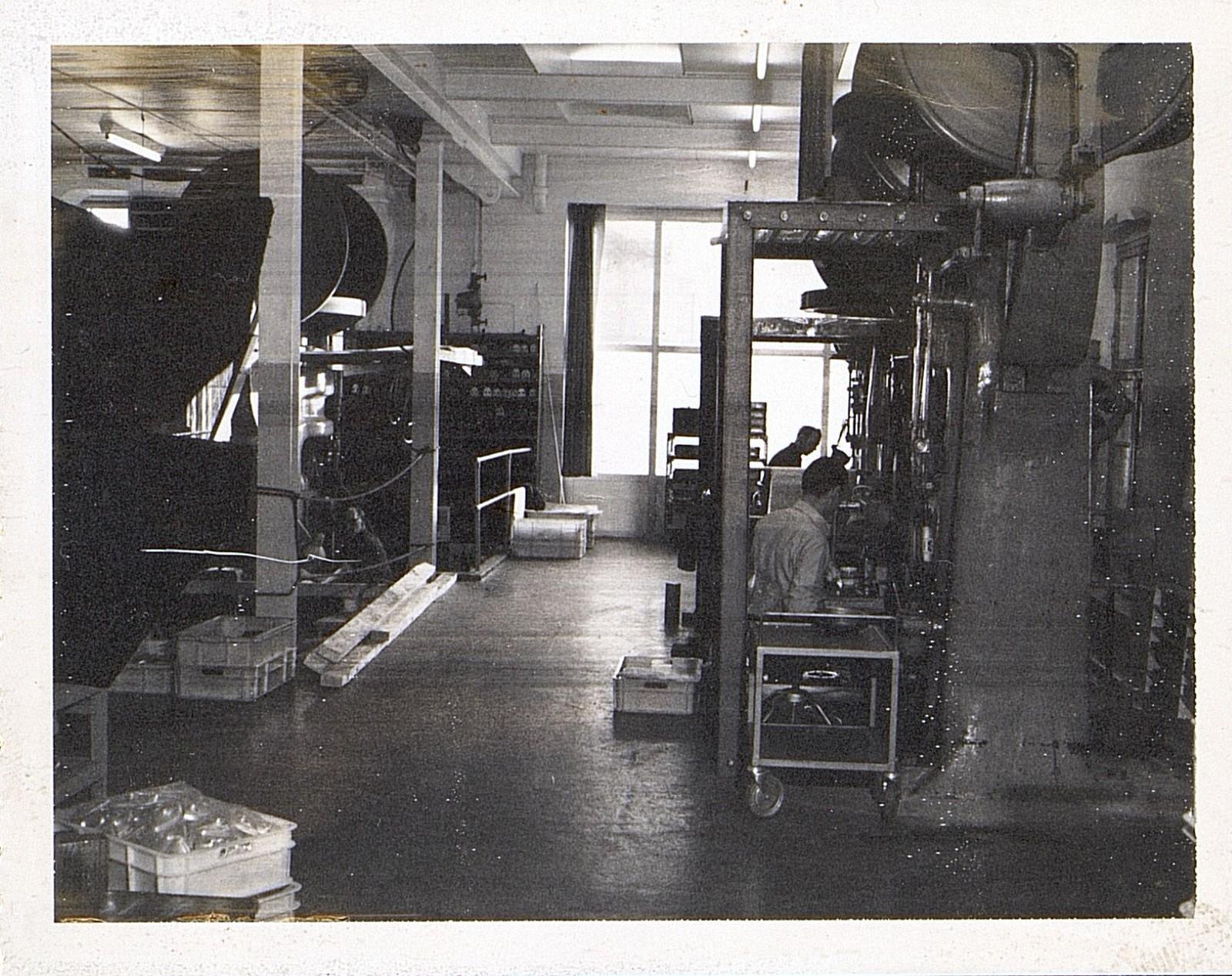 Fra virksomheten, 1960-70-tallet. Fotograf ukjent.