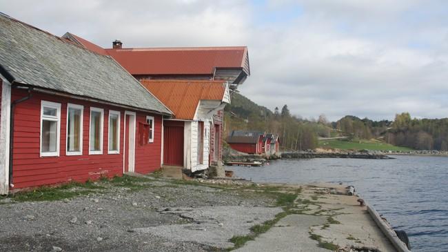 Svortevik kai, der Peder Svortevik starta landhandel. Foto: Ottar Starheim, NRK.