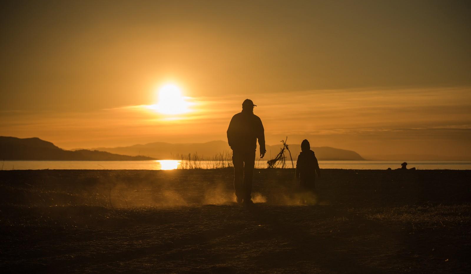 Mars: Sol og skyer i Stjørdal