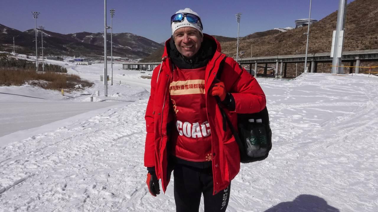 Ole Einar Bjørndalen er trener for Kinas landslag