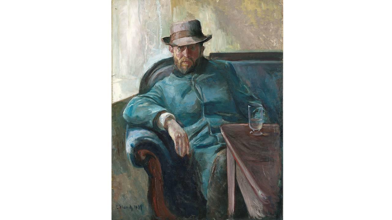 Edvard Munch - Hans Jæger 1889