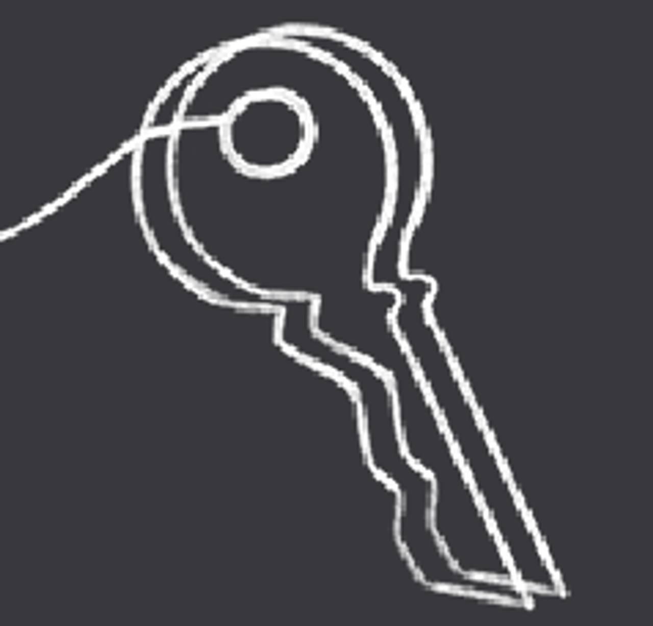 Illustrasjon av en nøkkel