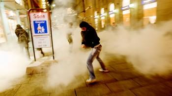 Tåregass mot demonstranter i Oslo