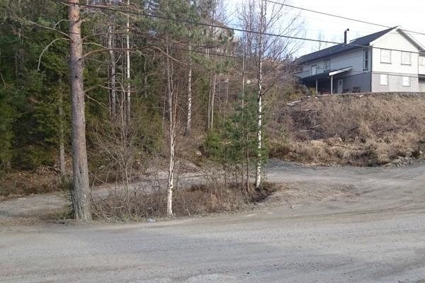 Her kan du parkere -  Foto: Harkjær-Andreassen