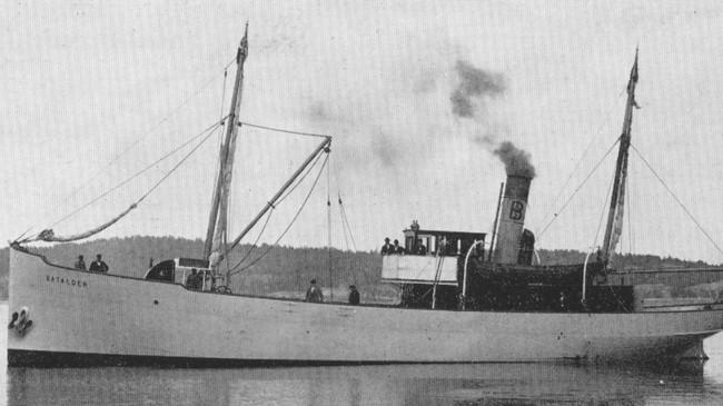 Fiskedampskipet Batalder.