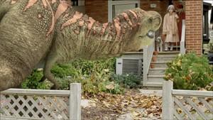 Jens ser dinosaurer