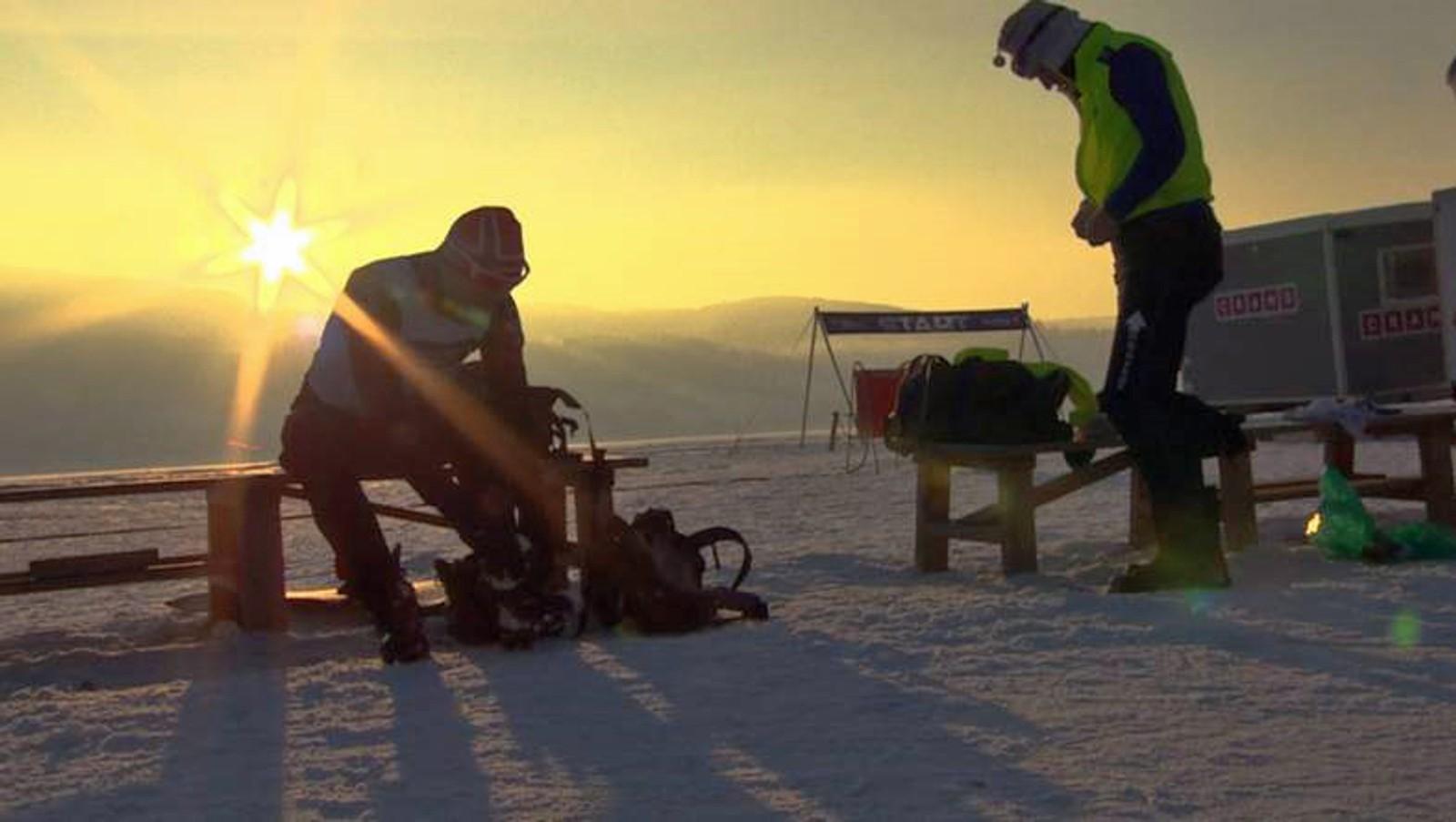 Rundt 200 personer gikk søndag det årlige Mjøsløpet.