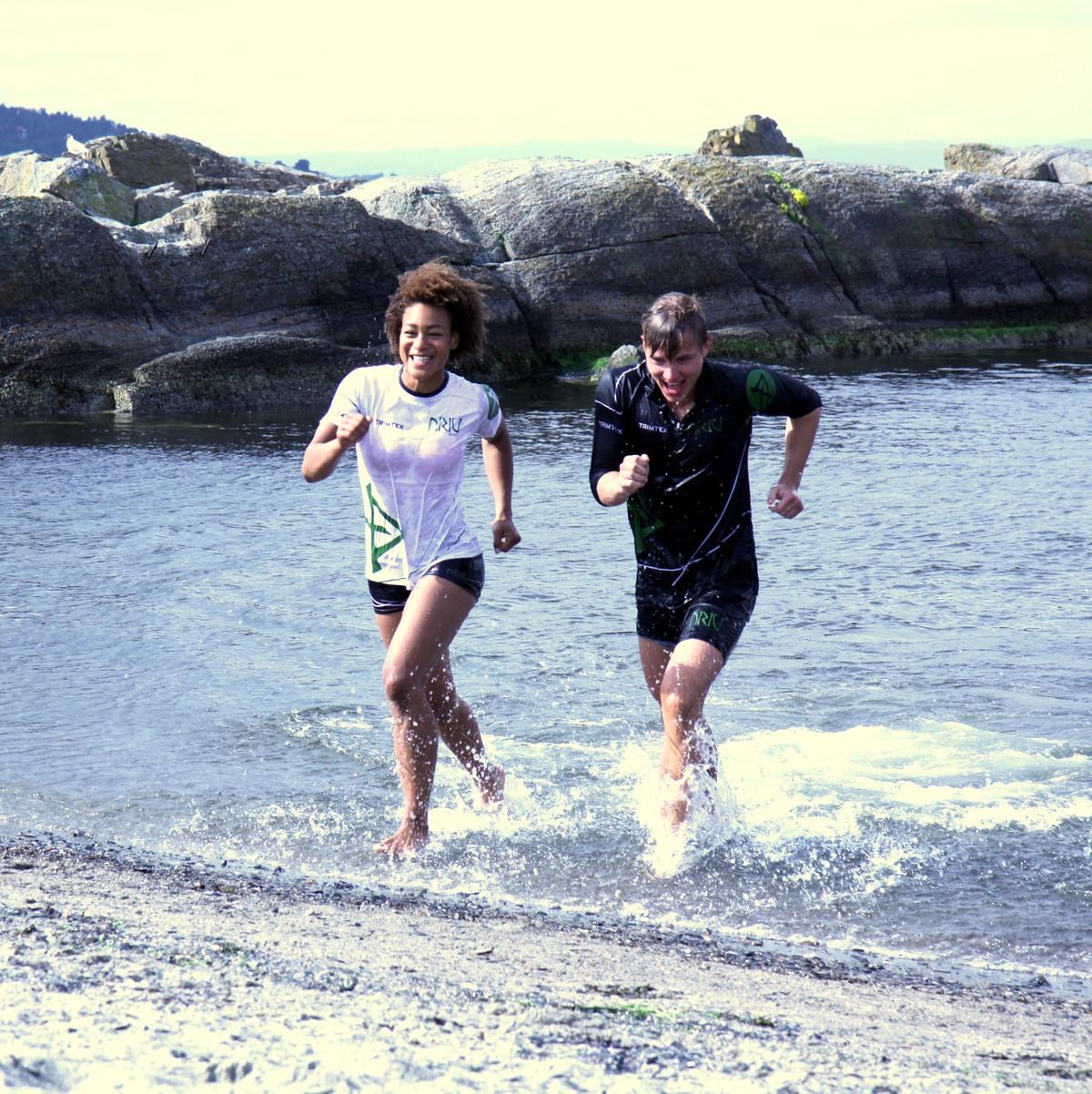Blå Tær Løping