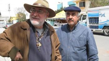 Javier Sicilia og Guillermo Gamez