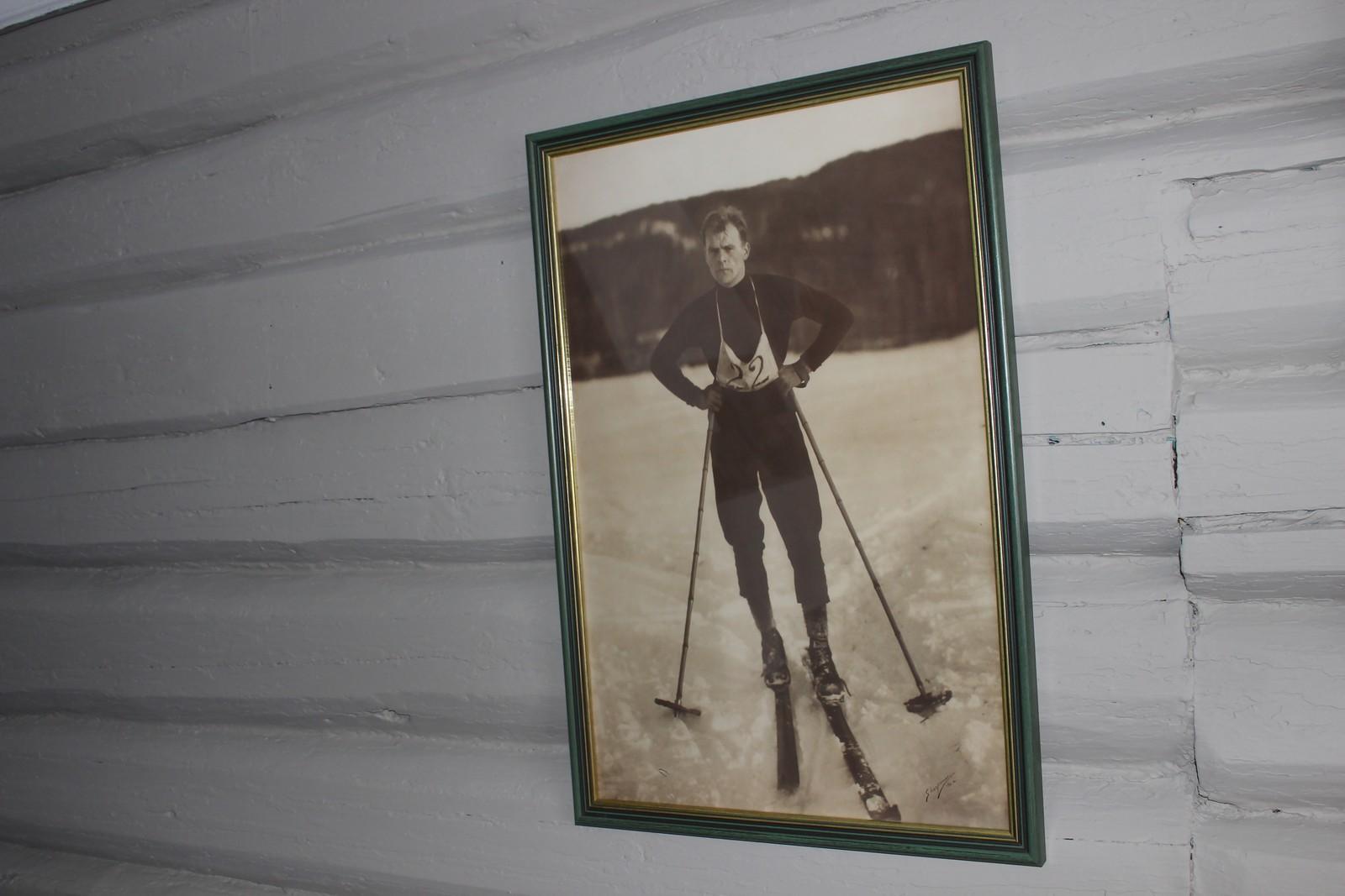 Bilder av Thorleif Haug skal pryde veggene i hans tidligere hjem.