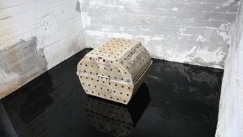 Per Barclay: Installasjon av en gammel posteiform på olje.